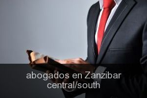 Abogados en Zanzibar central/south